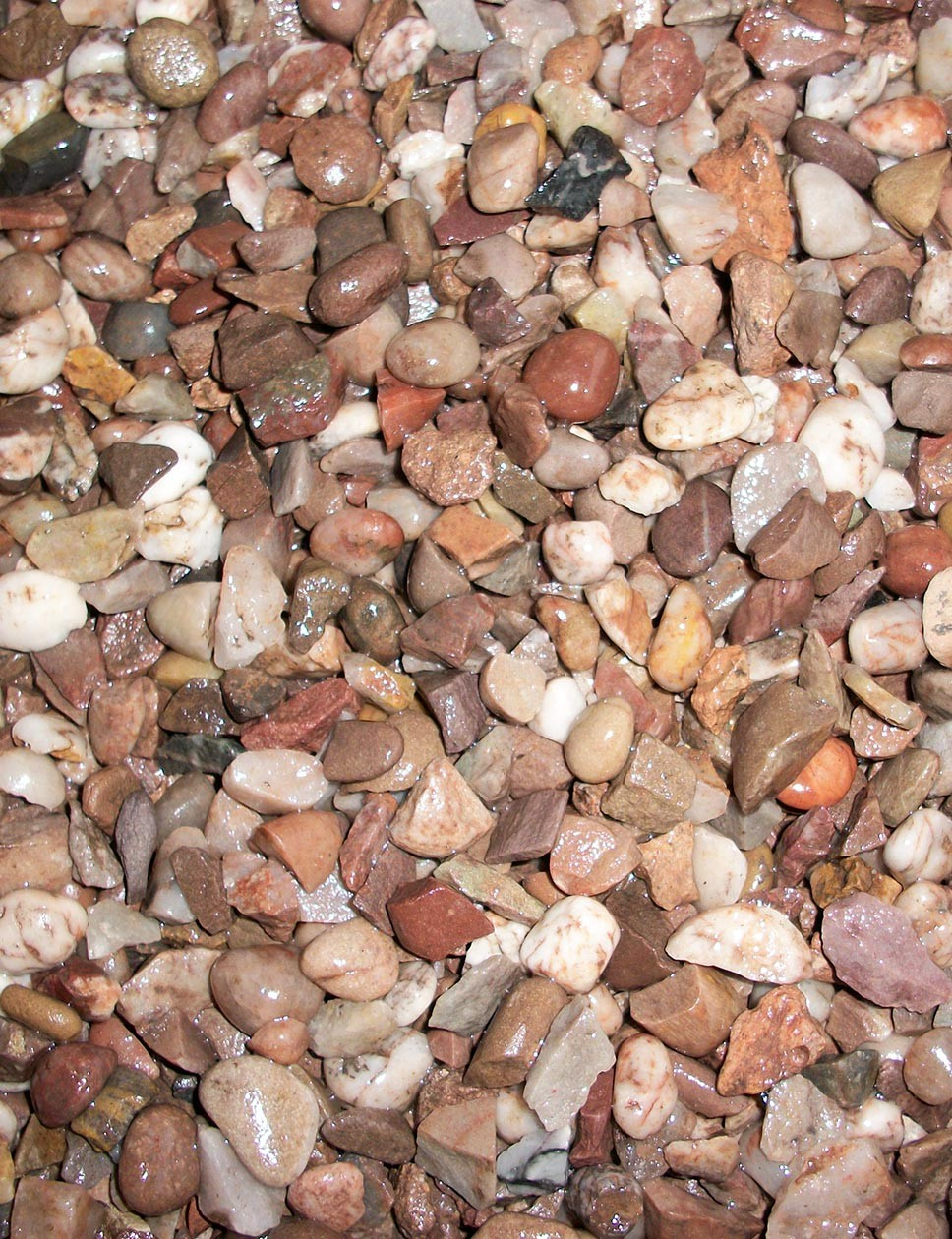 Staffordshire pink gravel 14-20mm