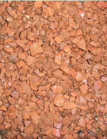 Red granite chippings 16mm