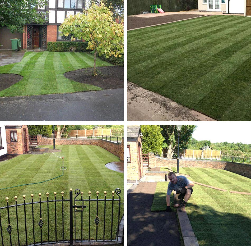 Topsoil wigan leigh bolton lawn laying service for Lawn topsoil